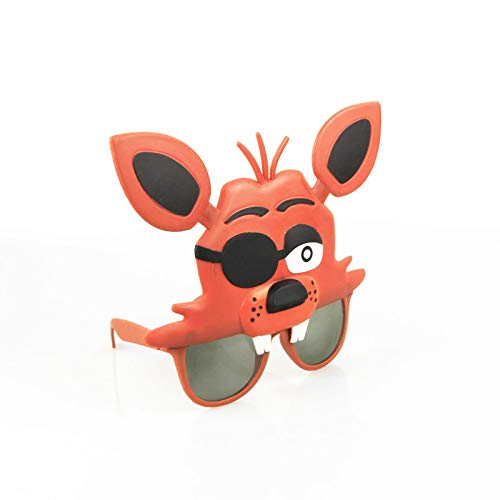 Panamat Action & Toy Figures - 4Styles Five Nights at Freddy's mask Freddy Chica Foxy Bear Glasses Party Latex Mask Cosplay Figure Toy FNAF Toy Adult Gift 1 - Mcfarlane Doll