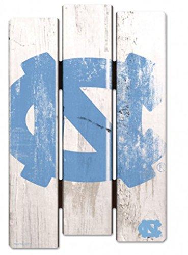 NCAA University of North Carolina Wood Fence Sign