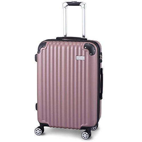 CtoC JAPAN Select ピンク Lサイズ H77xW51xD29㎝ スーツケース(約 5 ~ 7泊) L サイズ WSN 3001   B07DHSD2HC
