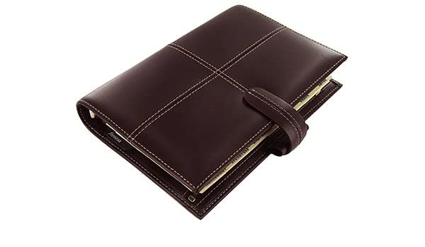 Filofax Classic Italian Leather Personal Organiser Cherry Leather