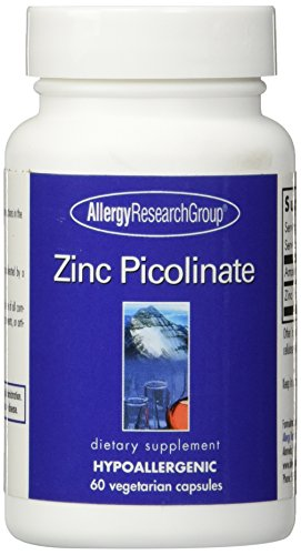 Allergy Research Group – Zinc Picolinate 25 mg 60 caps [Health and Beauty]
