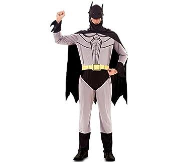 Fyasa 702072-t04 disfraz de murciélago, color gris, grande: Amazon ...
