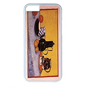Vincent Van Gogh Customized Design PC White Case for Iphone 6 Table Piece