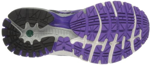 BrooksAdrenaline GTS 14 W - Zapatillas de running mujer Negro - Black/Electric Purple/Silver