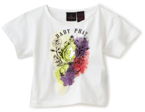 Baby Phat - Kids Little Girls' Glitter Tee