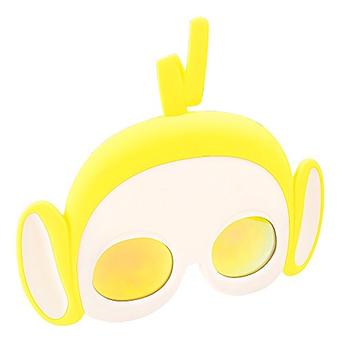 Costume Sunglasses Teletubbies Laa Laa Yellow Sun-Staches Party Favors UV400]()