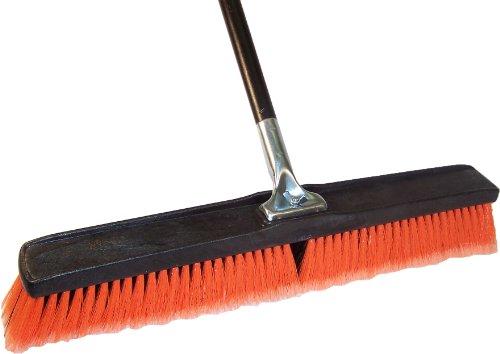 Professional Push Broom with Lock Block, 24-Inch (Dqb Push Broom)