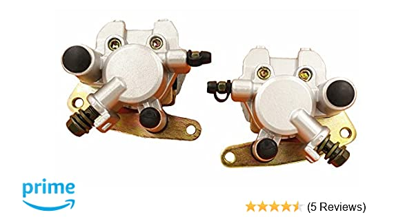 Brake Calipers YFM660 Front Set fit for Yamaha Grizzly 660 2002-2008 w// Pads