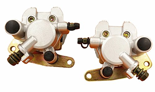 Front Brake Caliper Set For YAMAHA GRIZZLY 660 2002-2008 YFM660 With Pads L&R ()