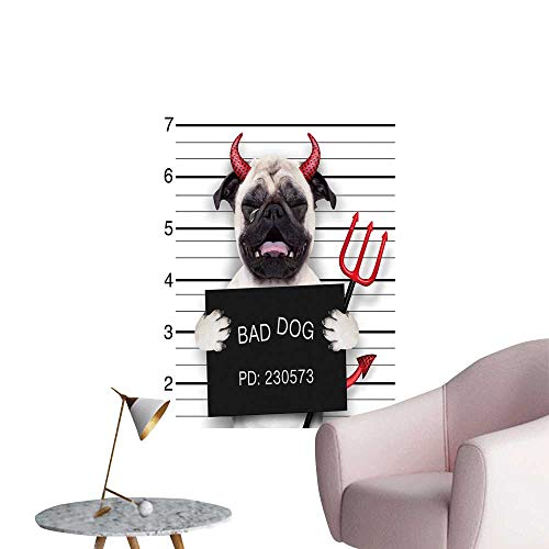 SeptSonne Wall Stickers for Living Room Halloween Devil