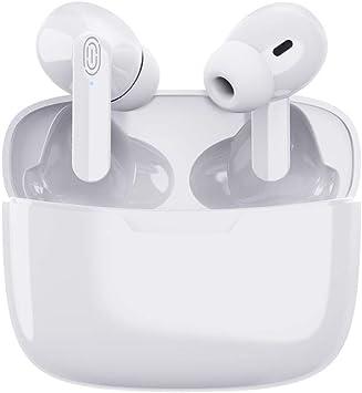 Oferta amazon: Auriculares Inalámbricos Auriculares Bluetooth con Estuche de Carga Auriculares Estéreo 3D con Cancelación de Ruido Micrófono Interno Integrado para iPhone/Android/Apple AirPods Pro