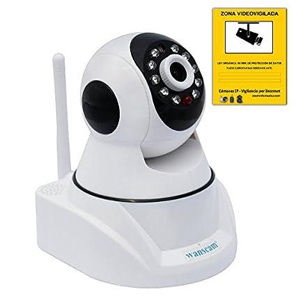 Cámara IP P2P wifi inalámbrica Wanscam Seguridad HW0030 con codigo QR HW030 H264