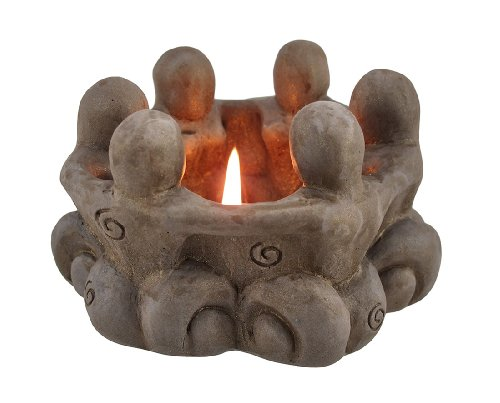 Things2Die4 Goddess Circle Ceramic Tea Light Candle Holder Pagan Wiccan