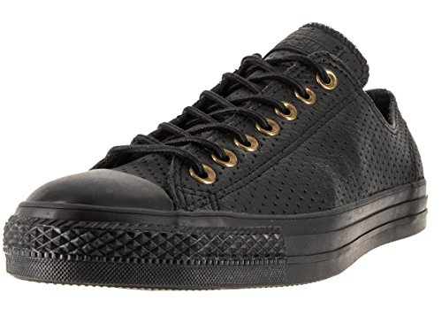Converse Unisex Chuck Taylor All Star Ox Black/Biscui Basketball Shoe 8.5 Men US / 10.5 Women ()
