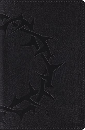 Holy Bible: English Standard Version, Deluxe Compact Trutone Charcoal Crown Design