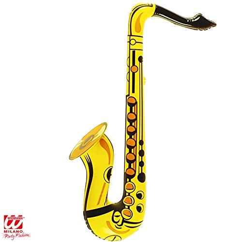 Aufblasbare Saxophon - Gelb - erwachsenes Abendkleid-Zubehör