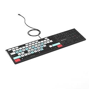 Adobe Lightroom Keyboard - PC Backlit Illuminated Keyboard for Windows - Photography