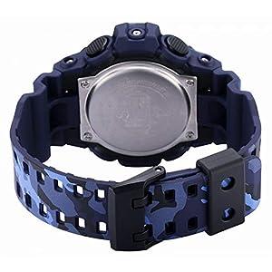 CASIO Reloj Analógico-Digital para Hombre de Cuarzo con Correa en Resina GA-700CM-2AER