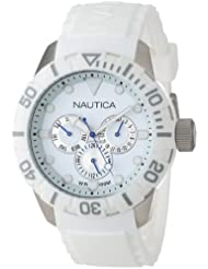 Nautica Unisex N13639G NSR 101 Multi- South Beach Classic Analog with Enamel Bezel Watch
