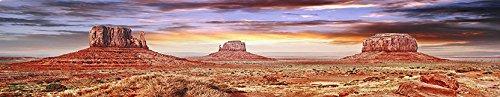 BannersNStands Reptile Habitat, Terrarium Background, Cool Desert Sky - (Various Sizes) (18''x72'') by BannersNStands