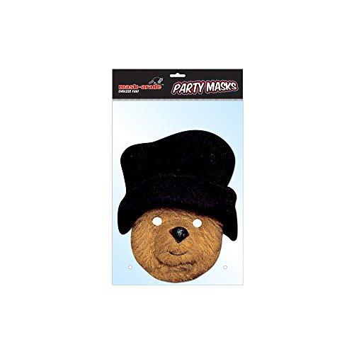 Paddington Bear Card Mask, Mask-arade, Impersonation/Fancy Dress