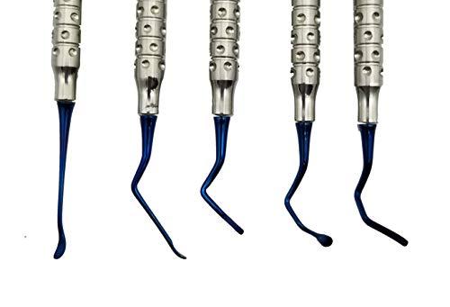 Vista Tunneling procedure Kit (5 pcs, Blue plasma coating) dental periodontologist gum repositioning ARTMAN BRAND by ARTMAN (Image #3)
