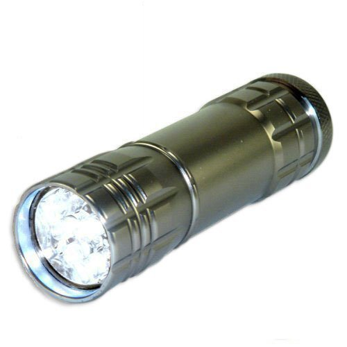 Neiko Super Bright Compact Aluminum Flashlight
