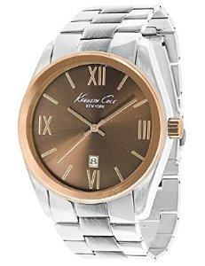 Kenneth Cole New York Three-Hand Brass Men's watch #KCW3047