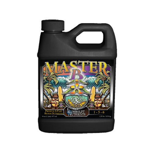 Humboldt Nutrients HNMB415 Humboldt Master Amino Bloom B Nutrients, 2.5 gallon White ()