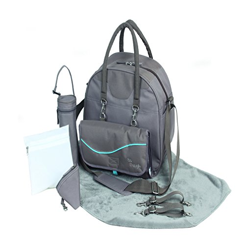 BO JUNGLE b-city – Bolso para pañales, color marrón