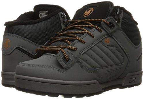 558b99aecd5 DVS Men's Militia Boot Skateboarding Shoe, Grey Nubuck/Sherpa, 10 M ...