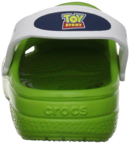 Bambino Clog Verde Sabot Crocs 14028 Boys Cc Green 4k6 120 Spongebob volt white Aqq6z8wx