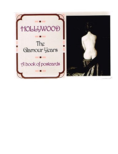 Books : Hollywood: The Glamour Years. A Book of Postcards