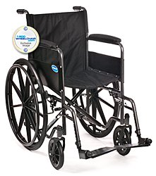 Invacare V20RLR Veranda Wheelchair 20 x 16 with Removable Desk Arms and Elevating Legrests