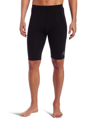 Adidas 8 Inch Shorts - adidas Men's Techfit C&S Short Tight, Black, Large