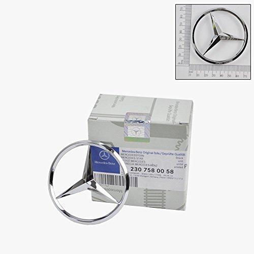 Mercedes-Benz Trunk Lid Star Emblem Badge Genuine Original (Trunk Star Emblem)