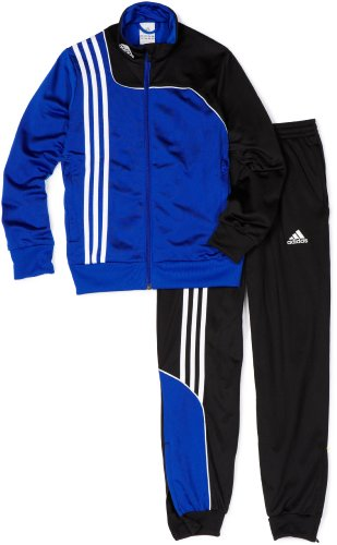 - Adidas Boys 8-20 Youth Sereno 11 Presentation Suit, X-Large, Cobalt/Black