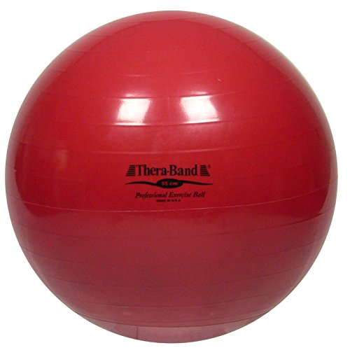 Thera-Band Exercise Ball, Red, 55 cm / 22''