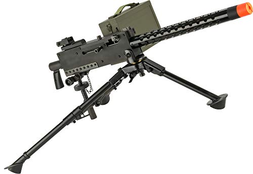 Evike Airsoft - EMG M1919 Gen 2 Automatic Squad Support Airsoft AEG (Package: Gun, Tripod and Pintle Mount)