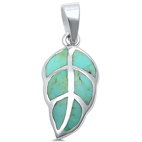 Turquoise Sterling Silver Charm - 2