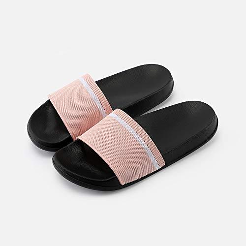 Da Casa Moda Pink E Antiscivolo Dimensioni Lixizhong Zenzero Donna Nuova Giallo Scarpe Interni colore Pantofole Estate Sandali Usura 37 5F0gxwq