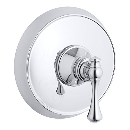 Kohler TS16117-4A-CP Revival Rite-Temp valve trim with traditional lever handle