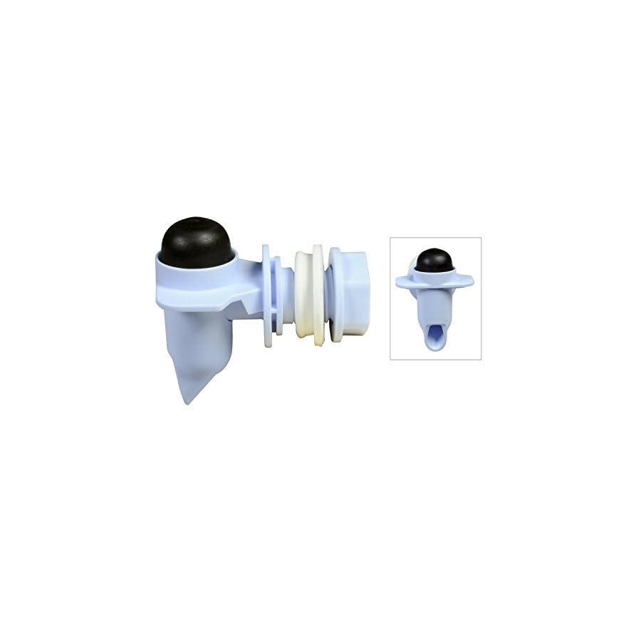 Rubbermaid #2b87 25 Wht Replacement Faucet Kit (1 Kit)