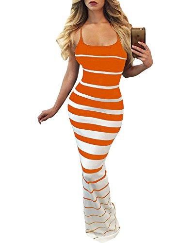 orange cami dress - 8