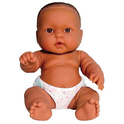 "Constructive Playthings DBB-02 14"" Huggable Baby- African..."