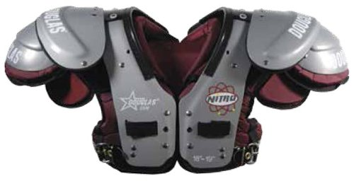 Douglas NP 25 Series RB/DB/QB Football Shoulder (Db Football Shoulder Pads)