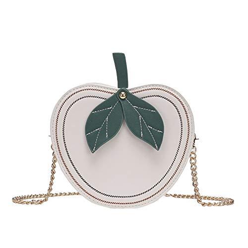 Zlulu Sticking A Wallets Cute Apple Bag Shoulder Wild Color Clutches Pu Handbag Female Contrast B r06rgq
