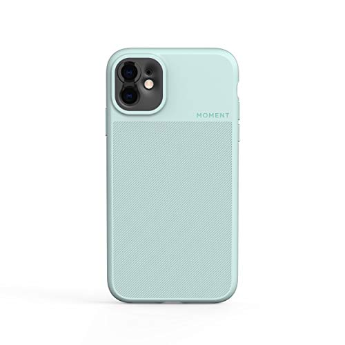 Moment Thin iPhone 11 Case - 100% Biodegradable Protective Case for Photography and Camera Lovers (Mint)