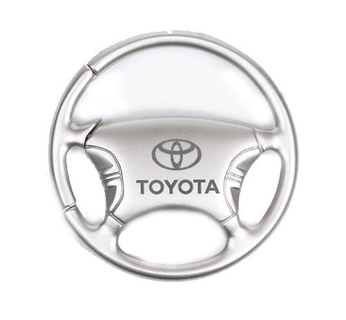 Toyota Steering Wheel Chrome Keychain (Key Wheel Steering)
