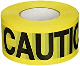 CH Hanson 1000 ft. Caution Caution Barricade Tape 2 mil